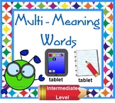 MULTI-MEANING Word Lesson - Intermediate Level