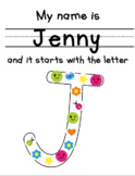 MULTI PURPOSE Name Practice and Beginning Letter Formation
