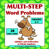 MULTI-STEP WORD PROBLEMS • Grades 2–3 •  Addition & Subtraction