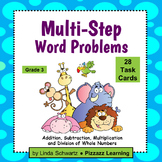 MULTI-STEP WORD PROBLEMS • Grade 3