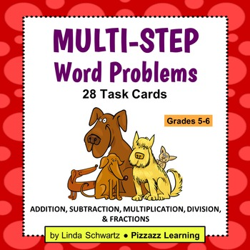 MULTI-STEP WORD PROBLEMS • Grade 5