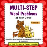 MULTI-STEP WORD PROBLEMS • Grade 5