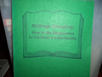 MULTIAGE GROUPING