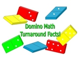 DOMINO MATH - Turnaround Facts Center Activities and Worksheet
