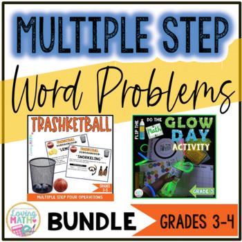 MULTIPLE STEP WORD PROBLEMS BUNDLE