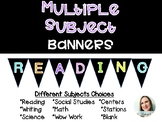 MULTIPLE SUBJECTS Banners for Bulletin Boards
