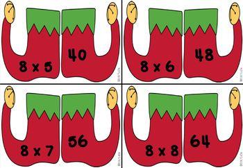 MULTIPLICACIÓN: tarjetas y actividades para CENTROS. Math Centers Multiplication
