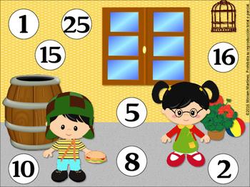 MULTIPLICANDO EN LA VECINDAD. Multiplicación con las tablas hasta el 6.