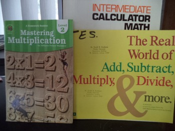 MULTIPLICAT,ADD,SUBTRACT,INERM CALMATH   (SET OF 3)