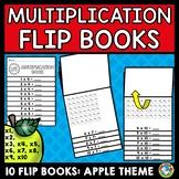 APPLE MATH  (MULTIPLICATION WORKSHEET ACTIVITIES) FLIP BOOKS