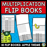 APPLE MATH  (MULTIPLICATION WORKSHEET ACTIVITIES) FLIP BOOKS