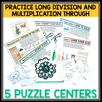MULTIPLICATION AND DIVISION ESCAPE ROOM
