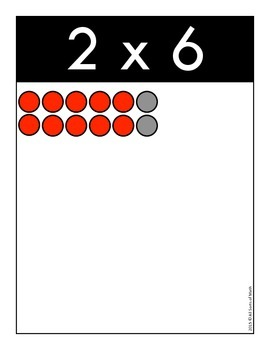 MULTIPLICATION POSTERS & CARDS