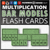 MULTIPLICATION BAR MODEL FLASH CARDS
