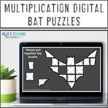 Multiplication Bat Math Centers Worksheet Alternative Or Bulletin