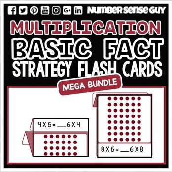 MULTIPLICATION BASIC FACT STRATEGY CARDS