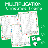 MULTIPLICATION Christmas Theme
