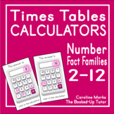 MULTIPLICATION WORKSHEETS {FACT FAMILIES} {division facts}