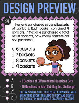 Unknown Numbers in Multiplication & Division ★ Google Classroom Math 3.OA.4