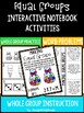 MULTIPLICATION EQUAL GROUPS Activities - Interactive Notebook, Word Problems