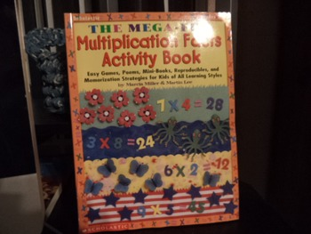 MULTIPLICATION FACTS ACTIVITY BOOK ISBN 0-590-373500-1