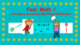 MULTIPLICATION FACTS GAME! (use with Bright Links or Presenter)