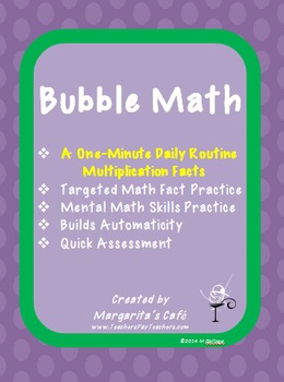 MULTIPLICATION FACTS - Routine Practice