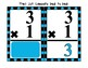 MULTIPLICATION FLASHCARDS AND FACTS TABLE