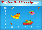 Multiplication Games: 8 Multiplication Game Boards - Battleship