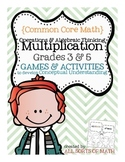 MULTIPLICATION GAMES (Grades 3 to 5)