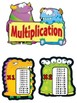 MULTIPLICATION MONSTER STRATEGY POSTERS