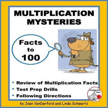 MULTIPLICATION MYSTERIES | Activities | Multiply to 100 | Gr 3 MATH