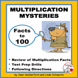 MULTIPLY to 100 ... MULTIPLICATION MYSTERIES ... Gr 3 MATH Activities