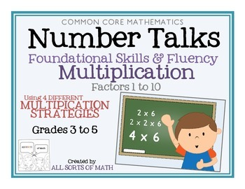 MULTIPLICATION NUMBER TALKS with Numerical Expressions (Gr