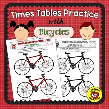 MULTIPLICATION FACTS BICYCLES PRACTICE - The Handy Hands Way!