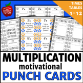 MULTIPLICATION PUNCH CARDS