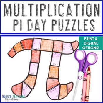 MULTIPLICATION Pi Day Activities for the Elementary Classroom - FUN Math Centers