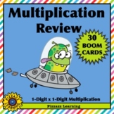 MULTIPLICATION REVIEW • BOOM CARDS