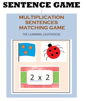 MULTIPLICATION  SENTENCE GAME