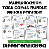 Multiplication Task Card BUNDLE - 252 Task Cards (Differentiated)