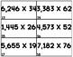 MULTIPLICATION TASK CARDS SET 5