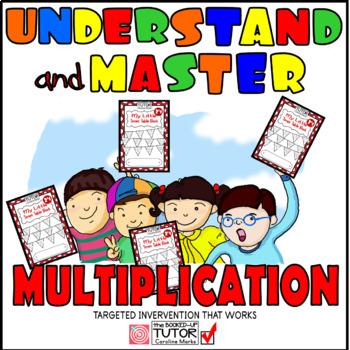 Learn multiplication facts {understanding multiplication} {struggling students}