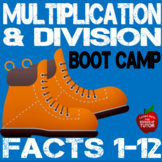 MULTIPLICATION DIVISION BOOT CAMP NUMBER FACTS 12 Workbook