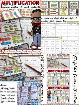 MULTIPLICATION: TIMES TABLES (GROWING) BUNDLE