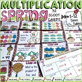 MULTIPLICATION: TIMES TABLES: SPRING THEMED