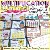 MULTIPLICATION: TIMES TABLES: SUMMER THEMED