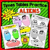 """MULTIPLICATION  or DIVISION """"ALIEN FACTS PRACTICE"""" - The H"""