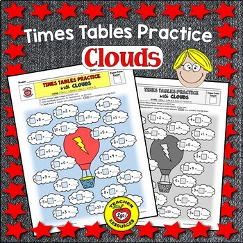 MULTIPLICATION FACTS CLOUDS PRACTICE - The Handy Hands Way!