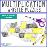 MULTIPLICATION Whistle Math Puzzle | FUN Sports Math Cente