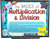 MULTIPLICATION and DIVISION Basics PowerPoint Game (CCSS 4.OA.1)